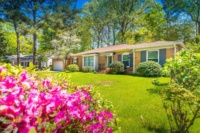Greenville Single Family Home For Sale: 1909 Sherwood Drive