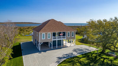 Harkers Island Single Family Home For Sale: 627 Bayview Drive
