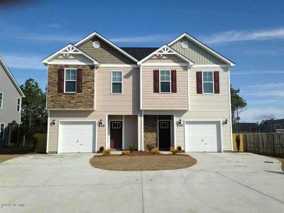 Holly Ridge Condo/Townhouse For Sale: 397 Frisco Way #Lot 335a