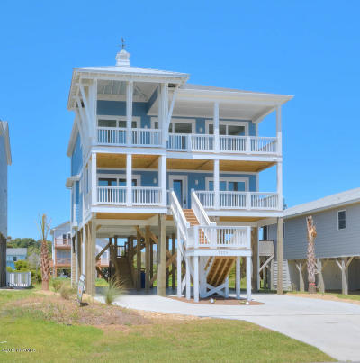 Oak Island Single Family Home For Sale: 5228 E Beach Drive
