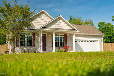 Newport NC Single Family Home For Sale: $225,000