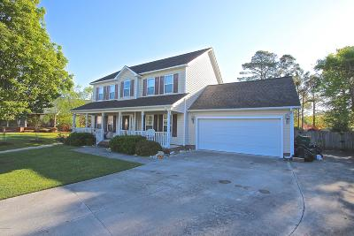 Swansboro Single Family Home For Sale: 500 Island Place