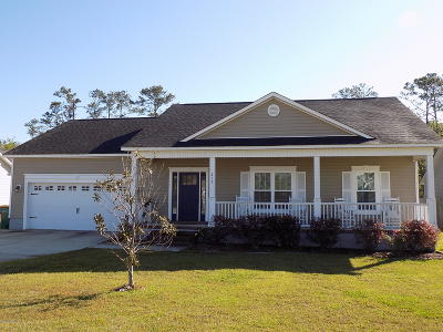 Swansboro Single Family Home For Sale: 219 Brook Crossing Road