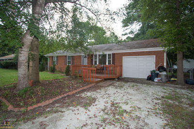 Onslow County Single Family Home For Sale: 1594 Blue Creek Road