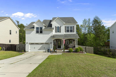 Onslow County Single Family Home For Sale: 405 Jasmine Lane