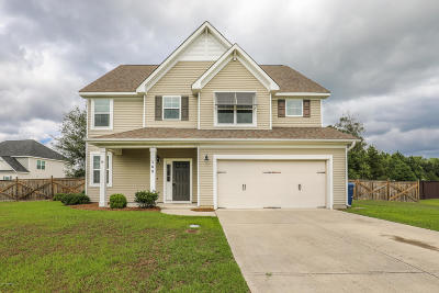 Onslow County Single Family Home For Sale: 169 River Winding Road
