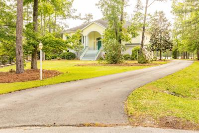 Carteret County Single Family Home For Sale: 133 Sandy Huss Drive