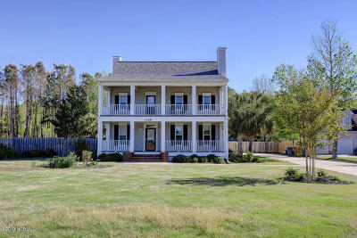 New Hanover County Single Family Home For Sale: 1309 Edgewater Club Road
