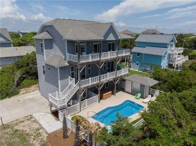 Emerald Isle Single Family Home For Sale: 100 Edna Street