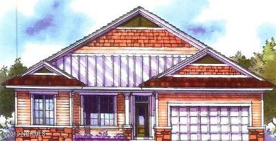 New Bern Single Family Home For Sale: 3015 Watercrest Loop