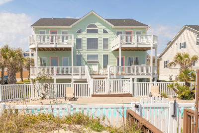 Emerald Isle Single Family Home For Sale: 9409 Ocean Drive