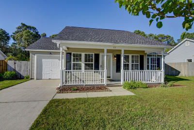 New Hanover County Single Family Home For Sale: 717 Brewster Lane