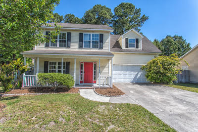 New Hanover County Single Family Home Active Contingent: 4903 Brenton Court