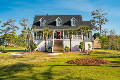 Emerald Isle Single Family Home For Sale: 7308 Canal Drive
