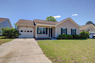 Holly Ridge Single Family Home For Sale: 137 Belvedere Drive