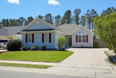 Brunswick County Single Family Home For Sale: 213 Sand Pebble Drive