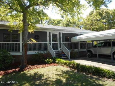 Oak Island Wooded NC Single Family Home For Sale: $249,500