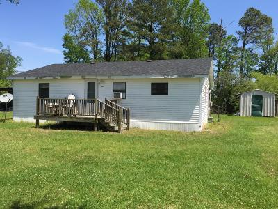 Onslow County Single Family Home For Sale: 1287 Haw Branch Road