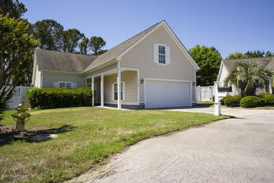 Southport Single Family Home Pending: 4193 Thomas Court SE