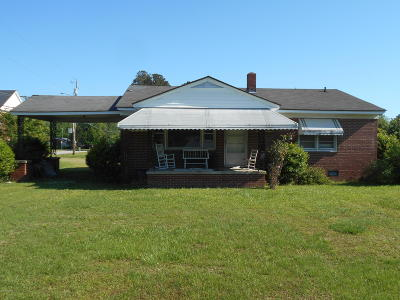 Rocky Mount Single Family Home For Sale: 3720 Sunset Avenue