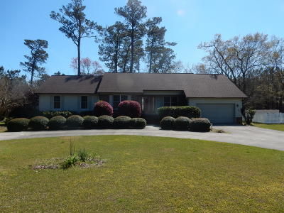Swansboro Single Family Home For Sale: 107 Stillwater Drive