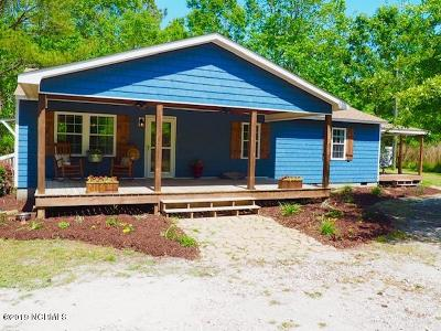 Single Family Home For Sale: 288 Hines Stump Sound Church Road