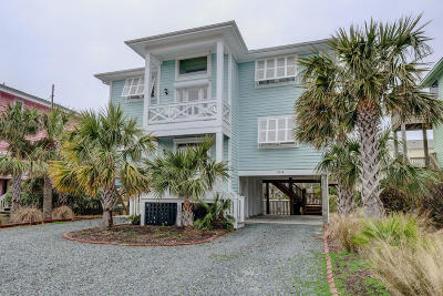 Topsail Beach Single Family Home For Sale: 2118 Inlet Drive