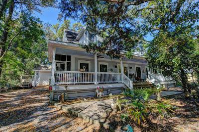 Bald Head Island Single Family Home For Sale: 126 North Bald Head Wynd