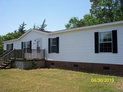 Richlands NC Manufactured Home For Sale: $99,000