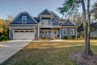 Olde Point, Olde Point Villas Single Family Home Active Contingent: 1009 Cordgrass Road
