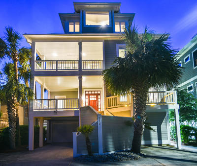 Wrightsville Beach Single Family Home For Sale: 212 Water Street