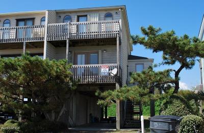 Holden Beach Condo/Townhouse For Sale: 292 Brunswick Avenue W #B
