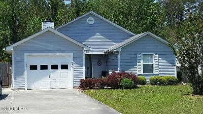 Onslow County Single Family Home For Sale: 410 Holly Lane