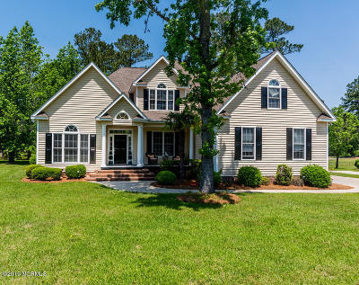 New Bern Single Family Home For Sale: 128 Mellen Road