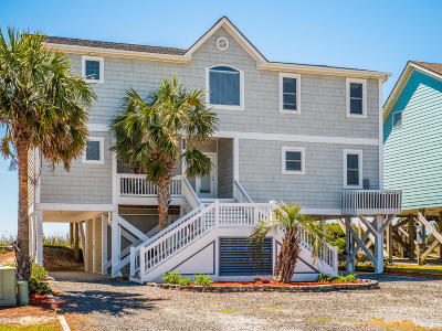 Holden Beach Island, Holden Beach Mainland Single Family Home For Sale: 134 Ocean Boulevard E