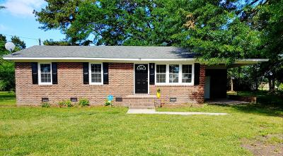 Rocky Mount Single Family Home For Sale: 73 Whitaker Road