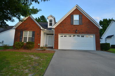 Winterville Single Family Home For Sale: 1509 Thayer Drive