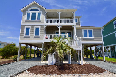 Holden Beach Single Family Home For Sale: 1036 Ocean Boulevard W