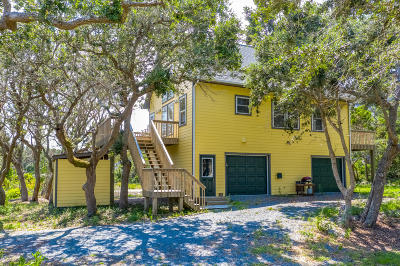 Topsail Beach Single Family Home For Sale: 454 N Anderson Boulevard