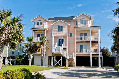 Emerald Isle Single Family Home For Sale: 7305 Ocean Drive