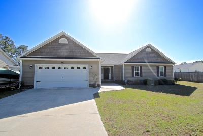 Hubert NC Single Family Home Active Contingent: $195,000