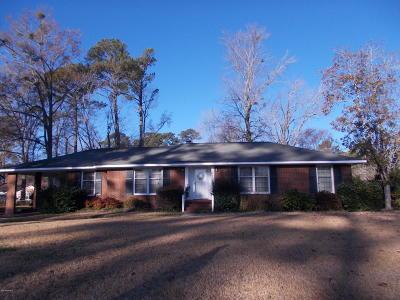 Kinston Single Family Home For Sale: 3011 Johnson Street