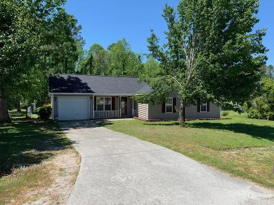 Onslow County Single Family Home For Sale: 227 Chaparral Trail
