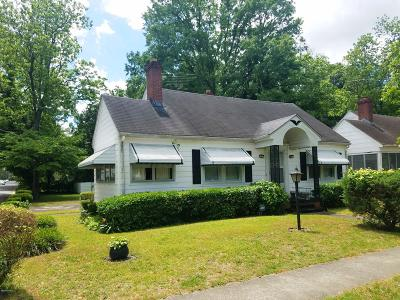Greenville Single Family Home For Sale: 1101 Colonial Avenue