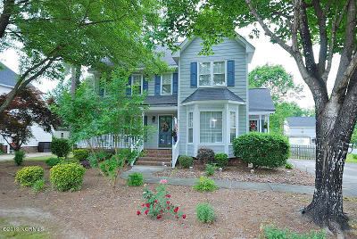 Rocky Mount Single Family Home Active Contingent: 4000 Crosswinds Drive