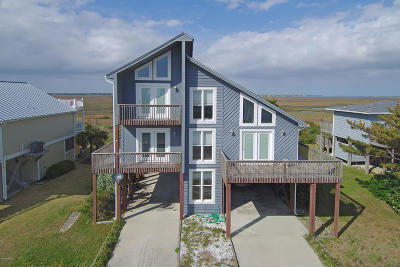 Oak Island NC Single Family Home For Sale: $500,000