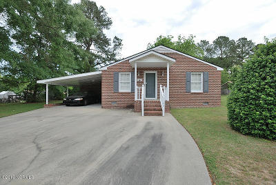 Rocky Mount Single Family Home For Sale: 1104 Oakey Street