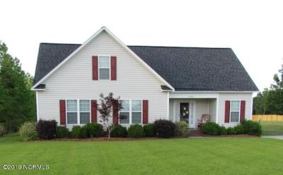 Greenville Single Family Home For Sale: 2001 Ida And Mary McLawhorn Road