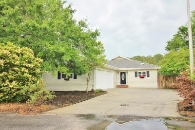 Calabash Single Family Home For Sale: 60 Holly Court SW