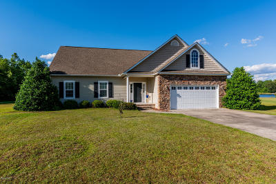 New Bern Single Family Home For Sale: 201 Antioch Lakes Road